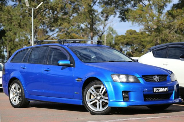 Used Holden Commodore SV6 Sportwagon, Warwick Farm, 2010 Holden Commodore SV6 Sportwagon Wagon