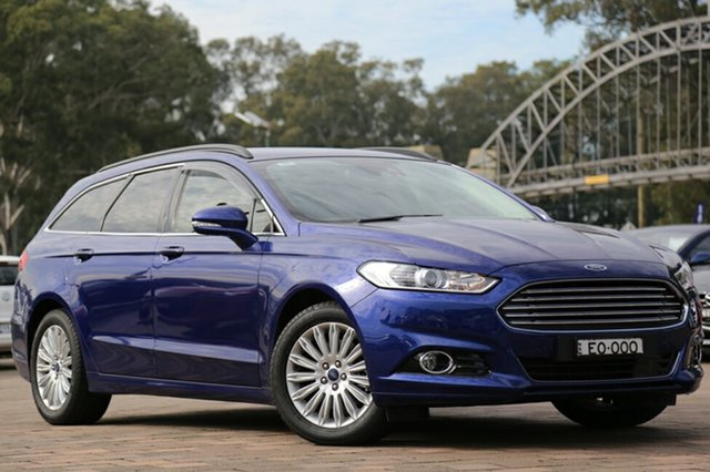 Discounted Demonstrator, Demo, Near New Ford Mondeo Trend PwrShift, Warwick Farm, 2016 Ford Mondeo Trend PwrShift Wagon