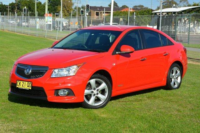 Used Holden Cruze JH Series II MY12 SRi-V, 2012 Holden Cruze JH Series II MY12 SRi-V Red 6 Speed Sports Automatic Sedan
