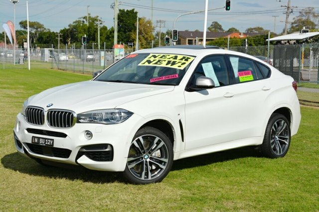 Used BMW X6 F16 M50d Coupe Steptronic, 2015 BMW X6 F16 M50d Coupe Steptronic White 8 Speed Sports Automatic Wagon