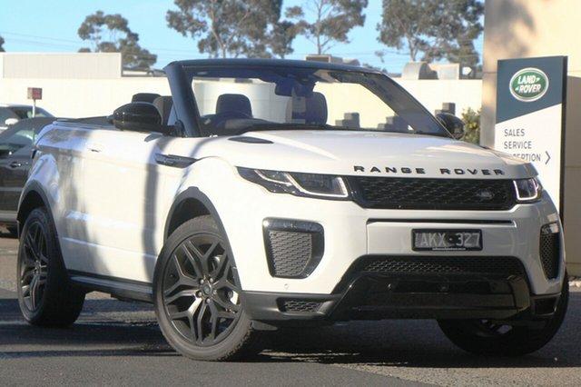 Demonstrator, Demo, Near New Land Rover Range Rover Evoque TD4 180 HSE Dynamic, Port Melbourne, 2017 Land Rover Range Rover Evoque TD4 180 HSE Dynamic Convertible