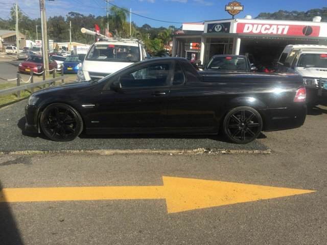 Used Holden Commodore VE SV6, 2009 Holden Commodore VE SV6 Black 5 Speed Automatic Utility