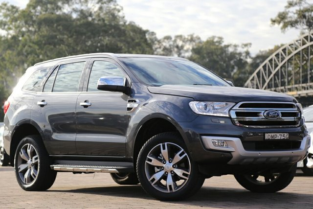 Discounted Demonstrator, Demo, Near New Ford Everest Titanium 4WD, Warwick Farm, 2017 Ford Everest Titanium 4WD SUV