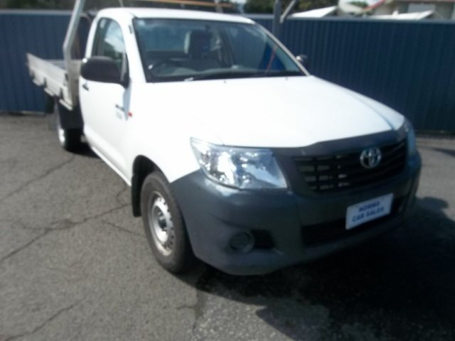 Used Toyota Hilux Workmate, North Rockhampton, 2014 Toyota Hilux Workmate Utility