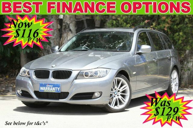 Discounted Used BMW 320D Executive Touring Steptronic, 2010 BMW 320D Executive Touring Steptronic E91 MY10 Wagon