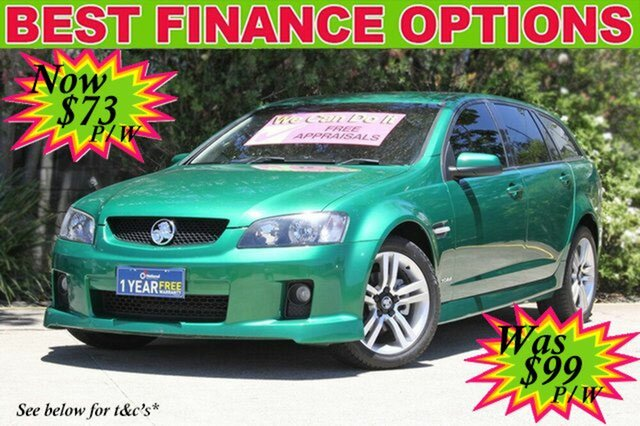 Discounted Used Holden Commodore SV6 Sportwagon, 2010 Holden Commodore SV6 Sportwagon VE MY10 Wagon