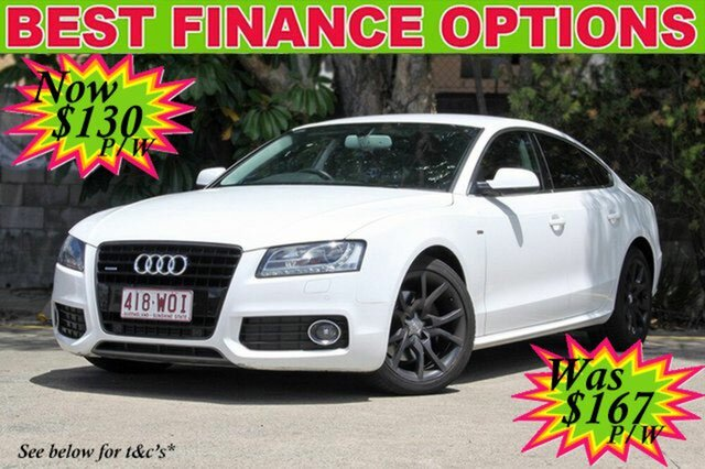 Discounted Used Audi A5 Sportback S tronic quattro, 2010 Audi A5 Sportback S tronic quattro 8T MY10 Hatchback