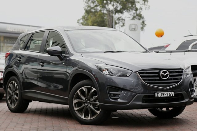 Used Mazda CX-5 Grand Touring SKYACTIV-Drive AWD, Narellan, 2016 Mazda CX-5 Grand Touring SKYACTIV-Drive AWD SUV