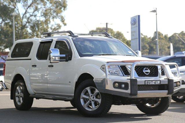 Used Nissan Navara ST-X 550, Narellan, 2011 Nissan Navara ST-X 550 Utility