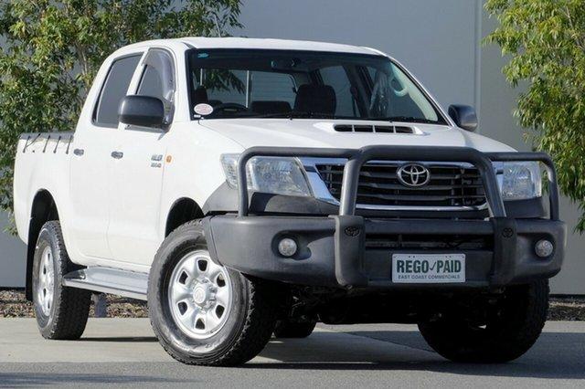 Used Toyota Hilux SR Double Cab, Robina, 2012 Toyota Hilux SR Double Cab KUN26R MY12 Utility