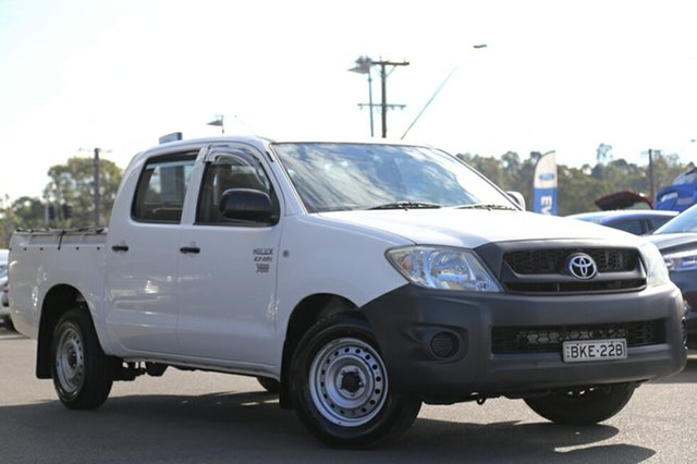 Discounted Used Toyota Hilux Workmate, Narellan, 2008 Toyota Hilux Workmate Utility