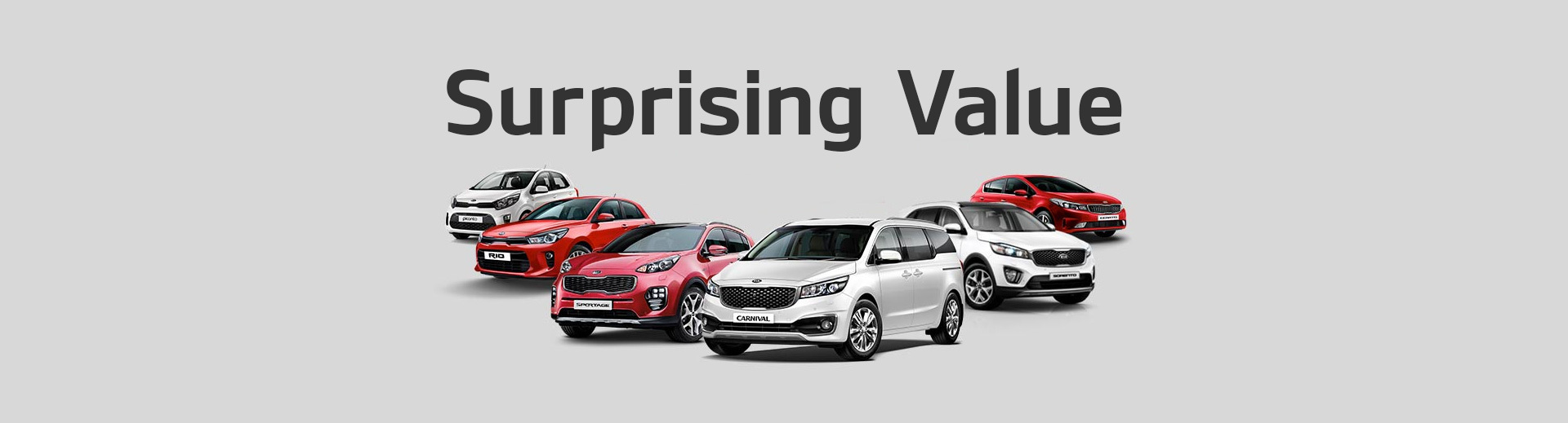 Kia - National Offer - Surprising Value