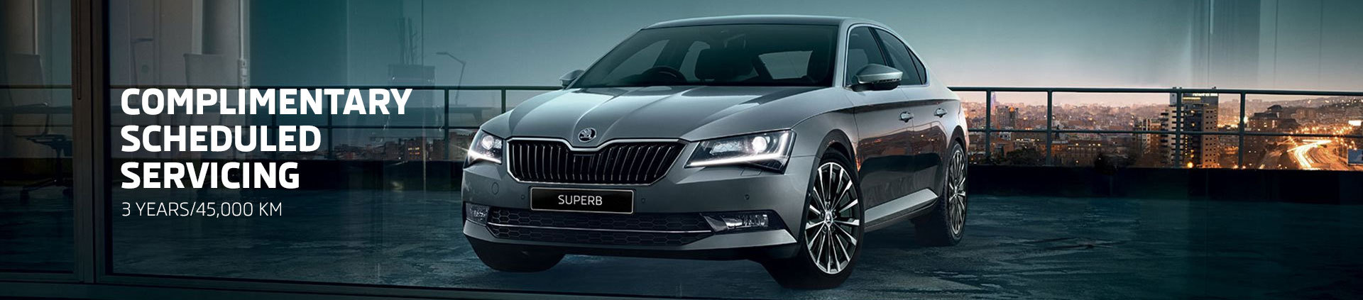 Skoda - National Offer - Complimentary Scheduled Servicing; 3 Years/45,000km