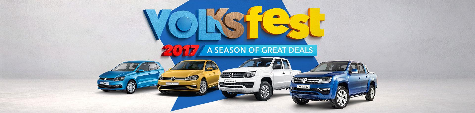 Volkswagen - National Offer - Volksfest; 2017 A Season of Great Deals