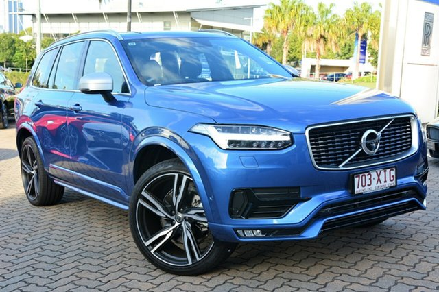 Demonstrator, Demo, Near New Volvo XC90 D5 Geartronic AWD R-Design, Southport, 2017 Volvo XC90 D5 Geartronic AWD R-Design Wagon