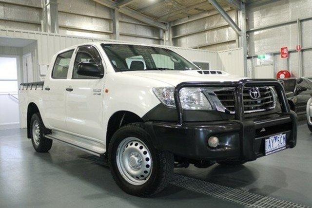 Used Toyota Hilux SR, 2014 Toyota Hilux SR KUN26R Utility