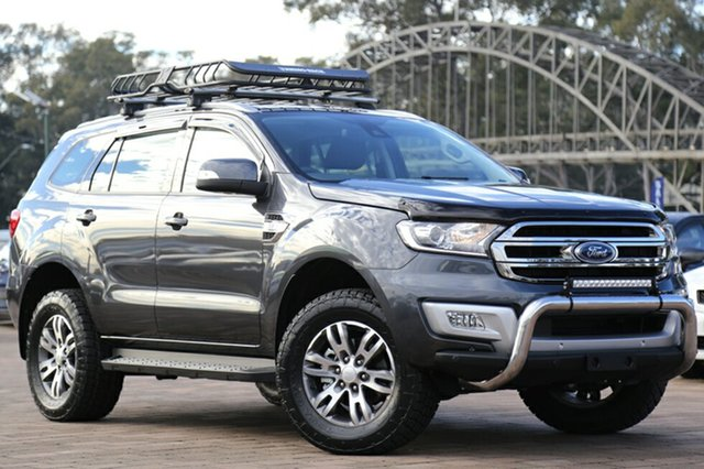 Discounted Demonstrator, Demo, Near New Ford Everest Trend 4WD, Warwick Farm, 2017 Ford Everest Trend 4WD SUV