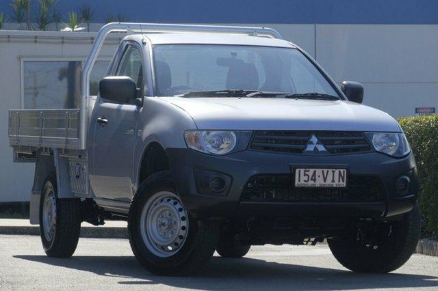Used Mitsubishi Triton GL, Bowen Hills, 2014 Mitsubishi Triton GL Cab Chassis