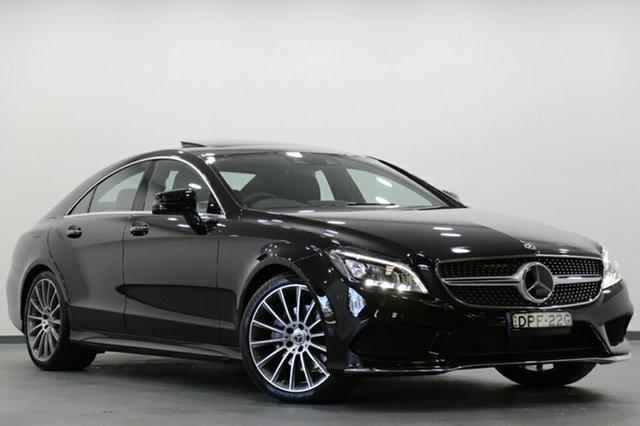 Demonstrator, Demo, Near New Mercedes-Benz CLS250D d Coupe 7G-Tronic +, Narellan, 2017 Mercedes-Benz CLS250D d Coupe 7G-Tronic + Sedan