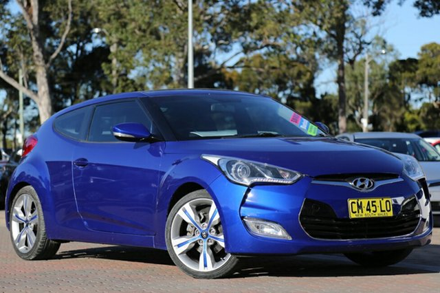 Used Hyundai Veloster + Coupe D-CT, Warwick Farm, 2012 Hyundai Veloster + Coupe D-CT Hatchback