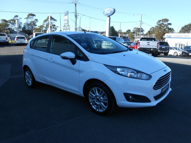 Discounted Demonstrator, Demo, Near New Ford Fiesta Trend PwrShift, Nowra, 2015 Ford Fiesta Trend PwrShift Hatchback