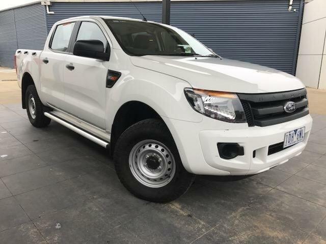 Used Ford Ranger XL 3.2 (4x4), Wangaratta, 2014 Ford Ranger XL 3.2 (4x4) Dual Cab Utility