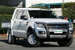 Discounted Used Ford Ranger XL Double Cab, Acacia Ridge, 2014 Ford Ranger XL Double Cab PX Cab Chassis