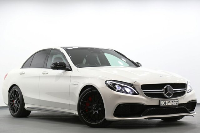 Used Mercedes-Benz C63 AMG SPEEDSHIFT MCT S, Narellan, 2016 Mercedes-Benz C63 AMG SPEEDSHIFT MCT S Sedan