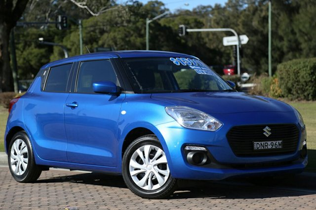 Discounted Demonstrator, Demo, Near New Suzuki Swift GL, Warwick Farm, 2017 Suzuki Swift GL Hatchback