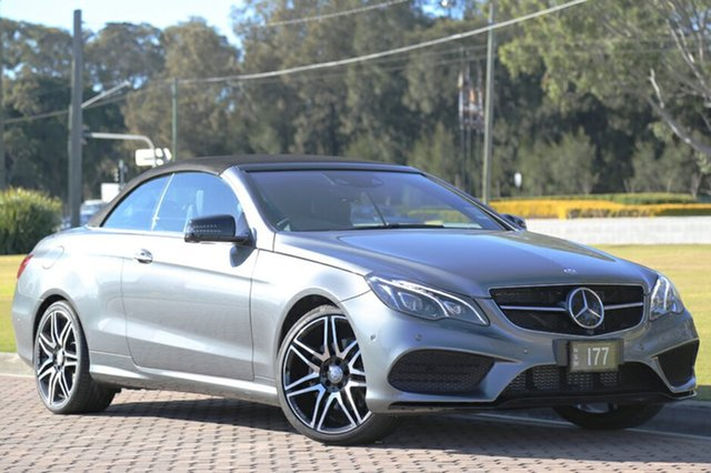 Demonstrator, Demo, Near New Mercedes-Benz E250 7G-Tronic +, Southport, 2016 Mercedes-Benz E250 7G-Tronic + Cabriolet