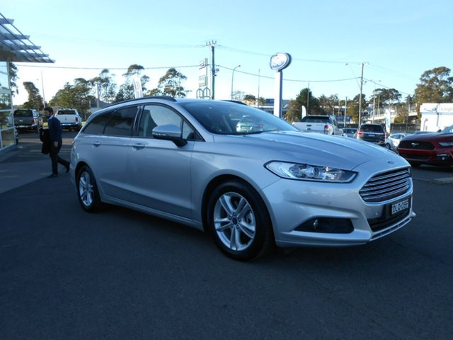 Discounted Demonstrator, Demo, Near New Ford Mondeo Ambiente SelectShift, Nowra, 2016 Ford Mondeo Ambiente SelectShift Wagon