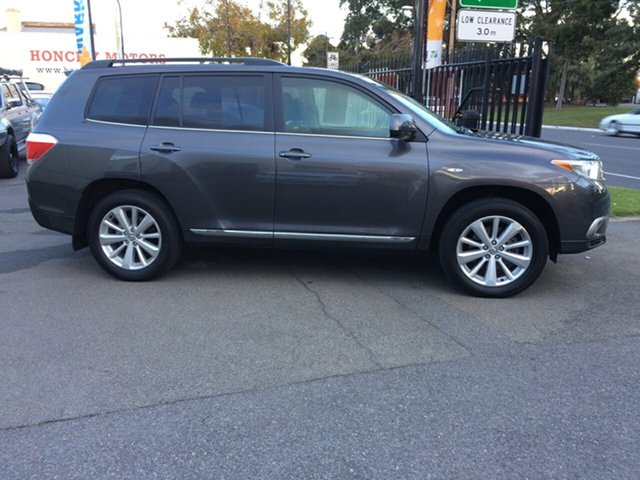 Used Toyota Kluger Altitude (FWD) 7 Seat, West Croydon, 2013 Toyota Kluger Altitude (FWD) 7 Seat Wagon