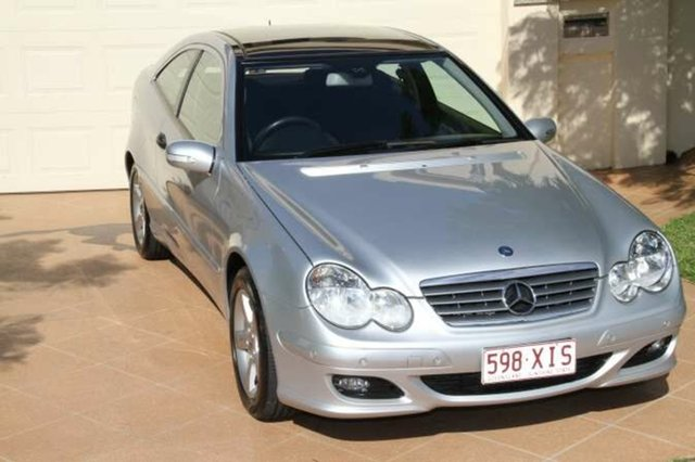 Discounted Used Mercedes-Benz C180 Kompressor Sports, Bundall, 2006 Mercedes-Benz C180 Kompressor Sports CL203 MY2006 Coupe