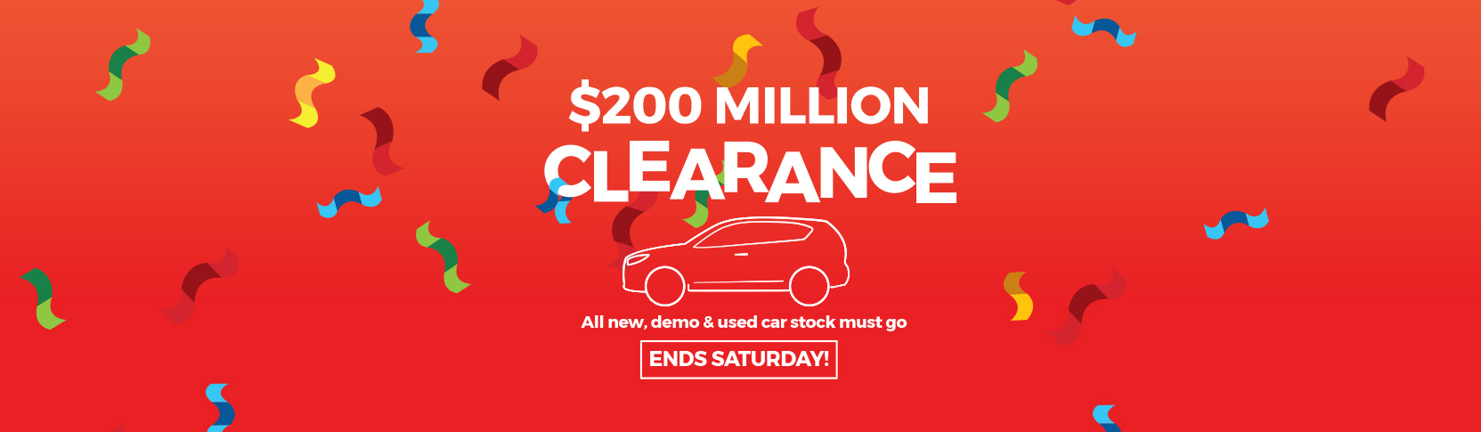 AHG 200 Million Clearance Sale