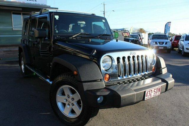 Used Jeep Wrangler Unlimited Sport, Tingalpa, 2008 Jeep Wrangler Unlimited Sport Softtop