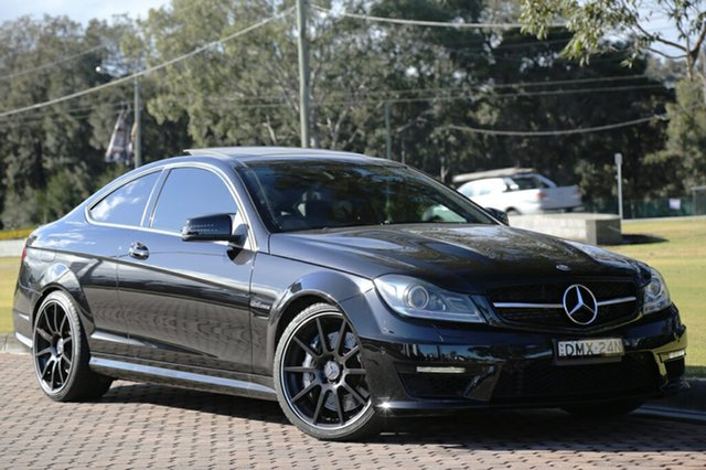 Discounted Used Mercedes-Benz C63 AMG SPEEDSHIFT MCT, Warwick Farm, 2013 Mercedes-Benz C63 AMG SPEEDSHIFT MCT Coupe