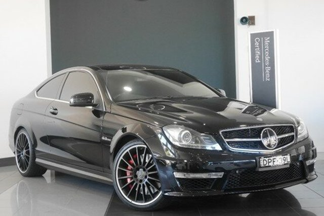 Demonstrator, Demo, Near New Mercedes-Benz C63 AMG SPEEDSHIFT MCT, Mosman, 2011 Mercedes-Benz C63 AMG SPEEDSHIFT MCT Coupe
