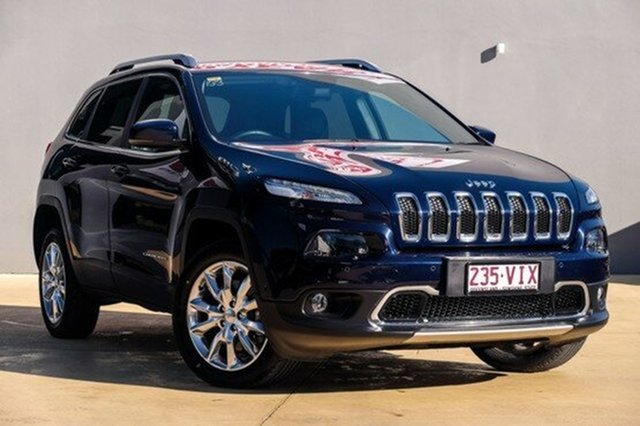 Used Jeep Cherokee Limited, Moorooka, Brisbane, 2014 Jeep Cherokee Limited Wagon