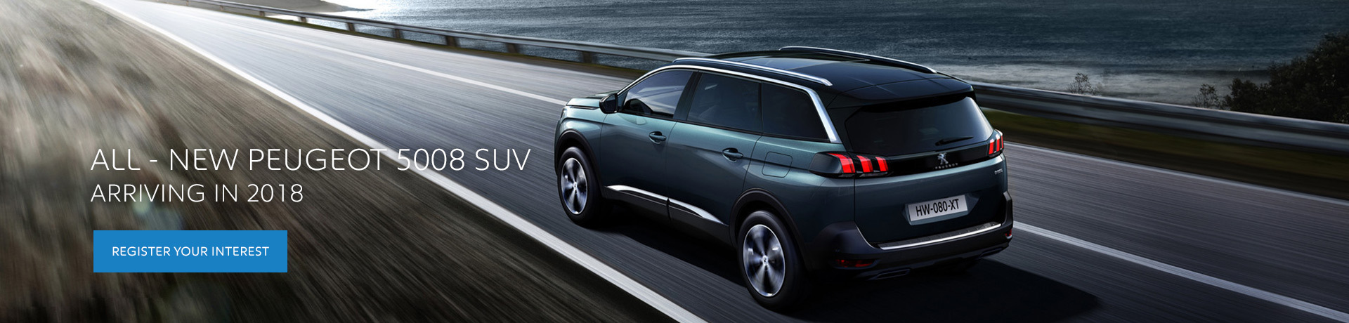 All New Peugeot 5008 SUV