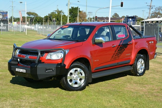 Used Holden Colorado RG MY14 Storm Crew Cab, 2014 Holden Colorado RG MY14 Storm Crew Cab Red 6 Speed Manual Utility