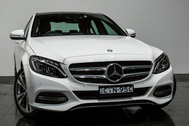 Used Mercedes-Benz C200 7G-Tronic +, Rozelle, 2014 Mercedes-Benz C200 7G-Tronic + Sedan