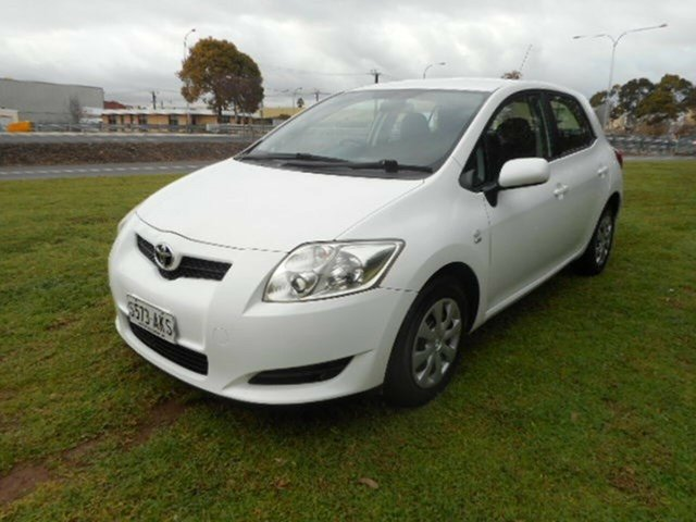 Used Toyota Corolla Ascent, Mile End, 2008 Toyota Corolla Ascent Hatchback
