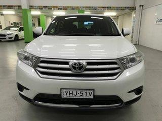 2013 Toyota Kluger KX-R (FWD) 7 Seat Wagon.