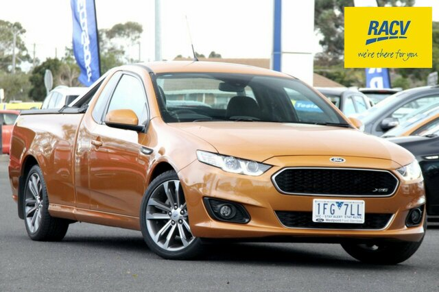 Used Ford Falcon XR6 Ute Super Cab, Hoppers Crossing, 2015 Ford Falcon XR6 Ute Super Cab Utility