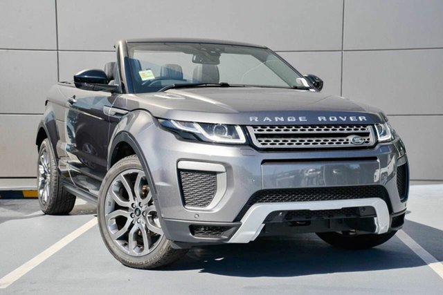 Demonstrator, Demo, Near New Land Rover Range Rover Evoque TD4 180 SE Dynamic, Southport, 2016 Land Rover Range Rover Evoque TD4 180 SE Dynamic Convertible