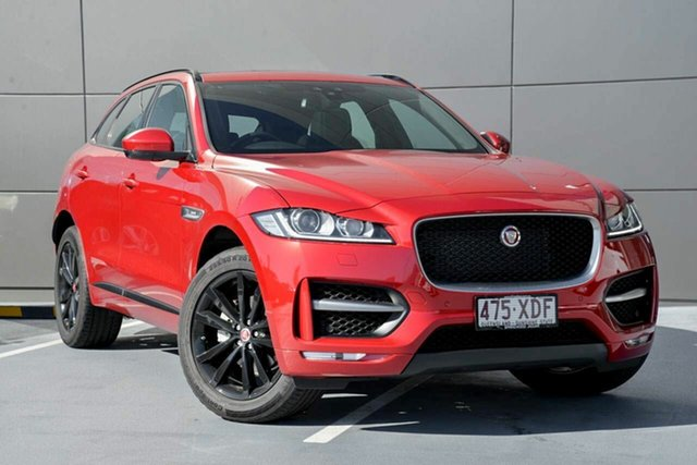 Demonstrator, Demo, Near New Jaguar F-PACE 20d AWD R-Sport, Southport, 2016 Jaguar F-PACE 20d AWD R-Sport Wagon