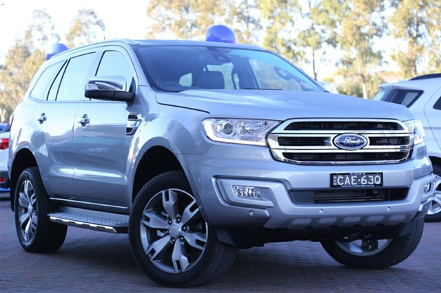 Discounted Demonstrator, Demo, Near New Ford Everest Titanium 4WD, Southport, 2017 Ford Everest Titanium 4WD Wagon