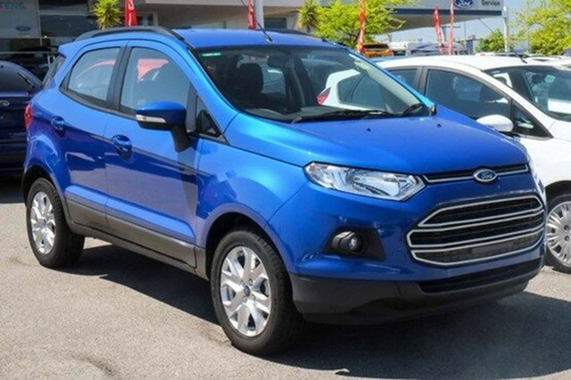 Demonstrator, Demo, Near New Ford Ecosport Trend PwrShift, Morley, 2017 Ford Ecosport Trend PwrShift Wagon