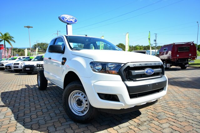 Discounted Demonstrator, Demo, Near New Ford Ranger XL Super Cab 4x2 Hi-Rider, Southport, 2016 Ford Ranger XL Super Cab 4x2 Hi-Rider Cab Chassis