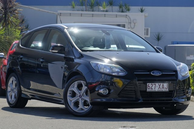 Used Ford Focus Sport PwrShift, Bowen Hills, 2014 Ford Focus Sport PwrShift Hatchback
